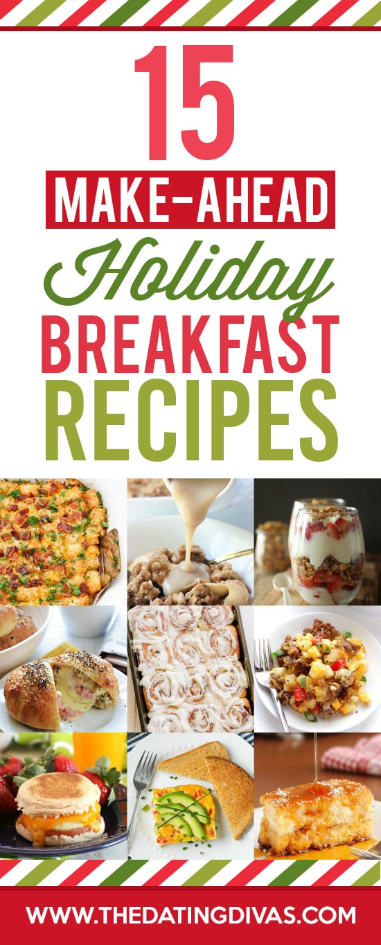 15 Christmas Breakfast Recipes to Make Ahead