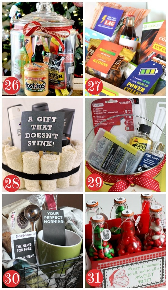 Diy christmas gift basket ideas for couples