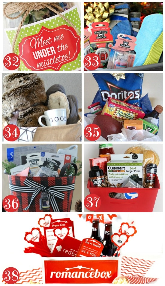 Fun christmas gift basket ideas