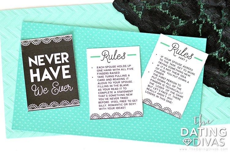 Never Have We Ever Bedroom Game Rules for Couples #easybedroomgame
