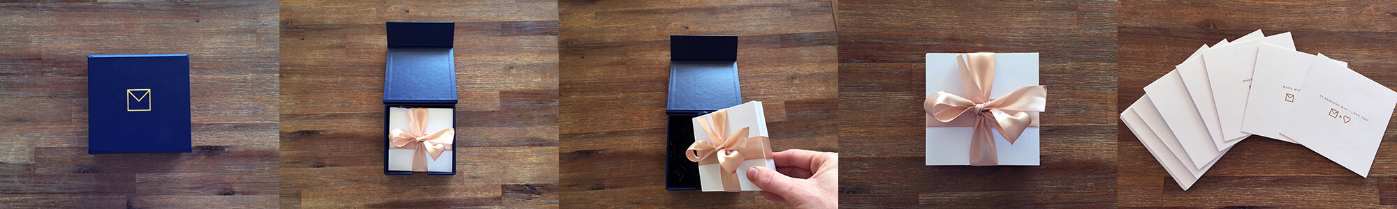 NoteCube is made from beautiful materials to ensure a beautiful gift.