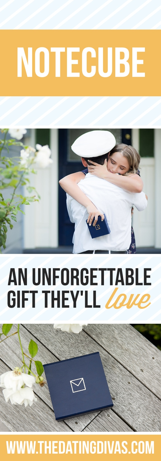NoteCube makes a meaningful gift they will cherish forever!