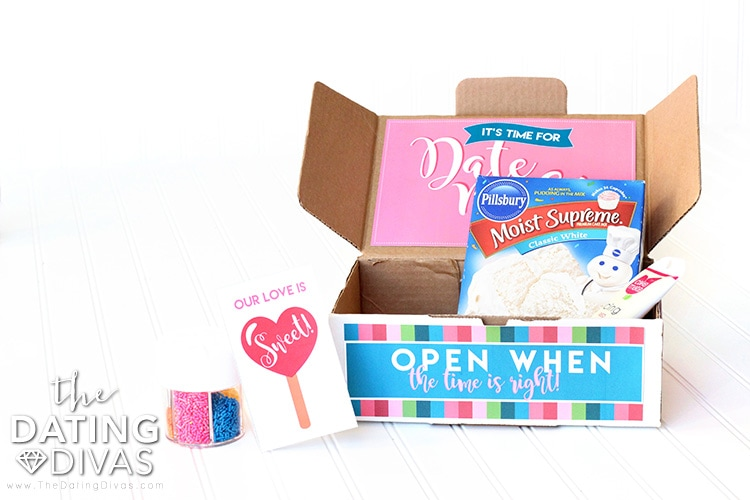 Open When Date Night Boxes for Couples