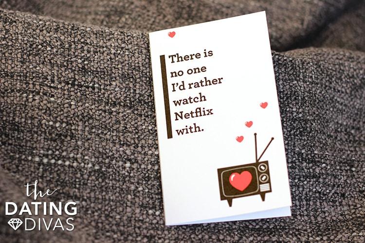Open When Date Love Note