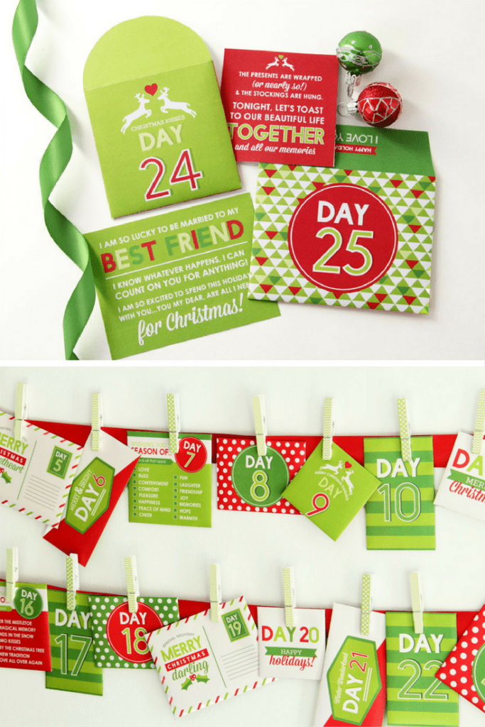 Printable Christmas Advent
