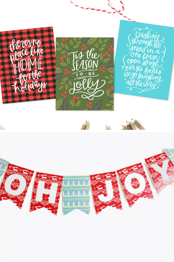 Christmas Banner and Prints