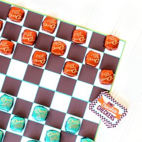 Sexy Chocolate Checkers