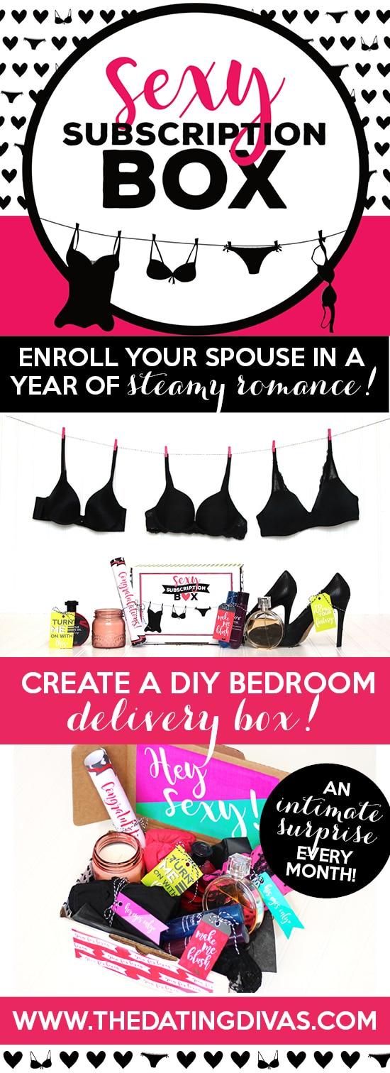 Sexy Subscription Box DIY Bedroom Game