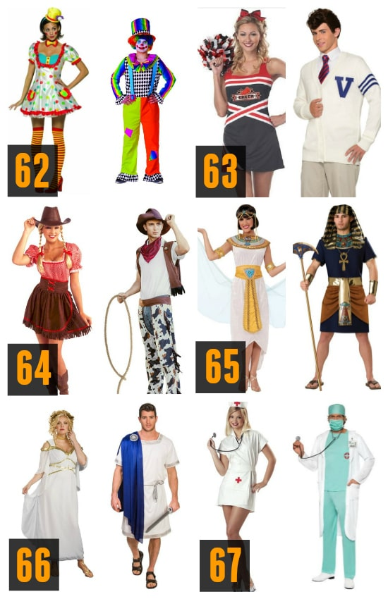 Traditional Couples Halloween Costumes