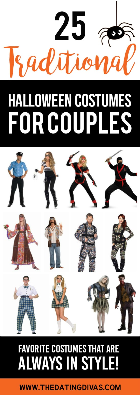 Traditional Halloween Costumes for Couples