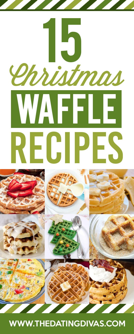 Christmas Breakfast Waffle Recipes