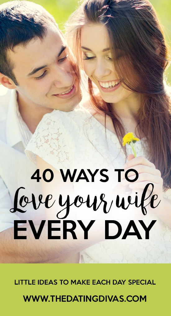 Ways to Love Your Wife Every Day