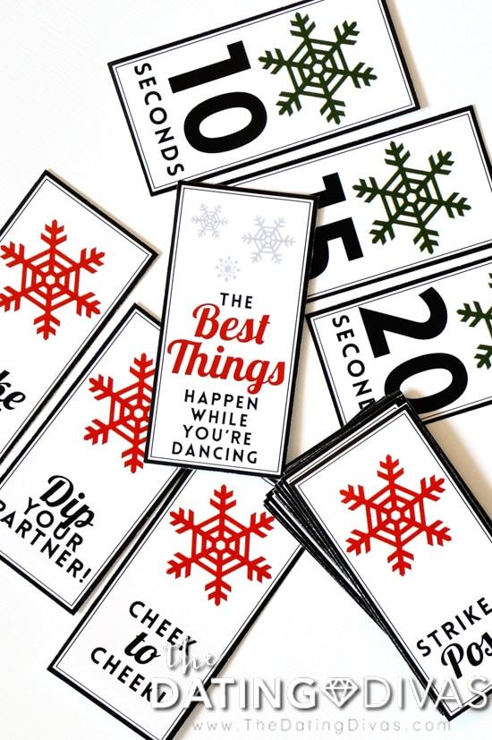 White Christmas Movie Night Game