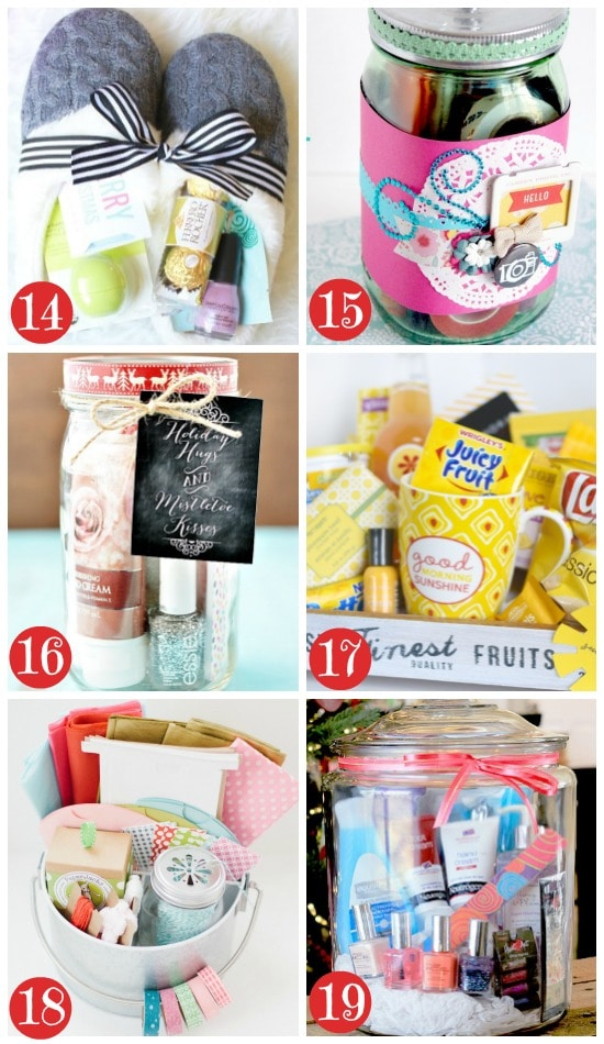 50 Themed Christmas Basket Ideas - The Dating Divas
