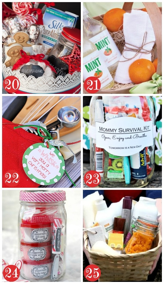 more christmas gift baskets for women