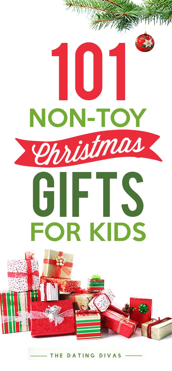 Kids Christmas Toy : Non toy christmas gifts the dating divas