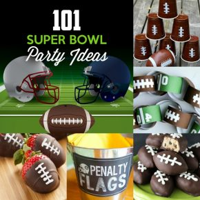 101 Super Bowl party ideas!
