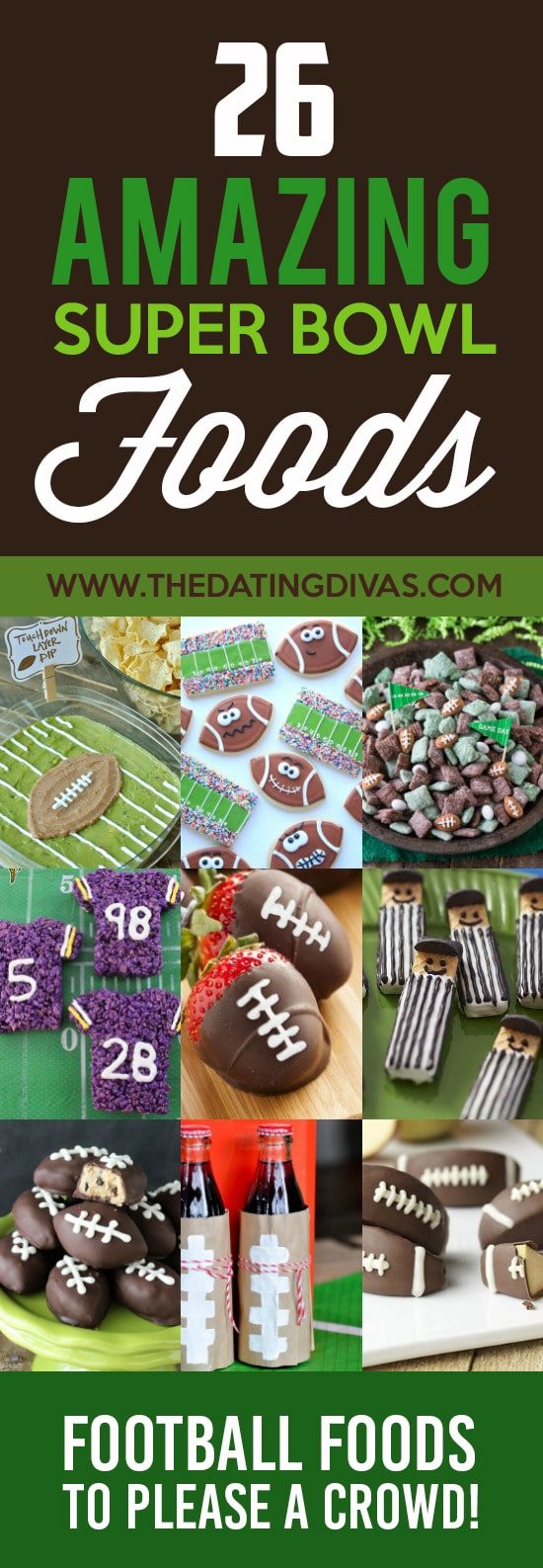 Perfect food ideas for the Super Bowl.