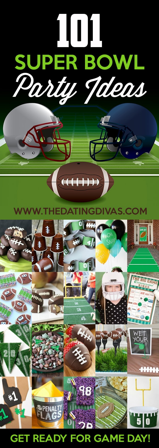101 great ideas for hosting the best Super Bowl party.