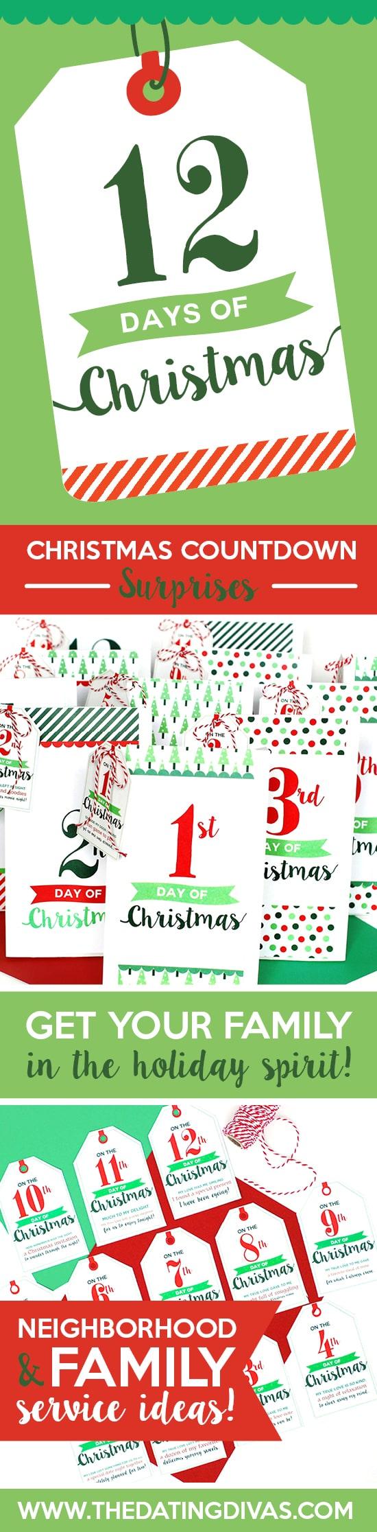 12 Days of Christmas Service Idea