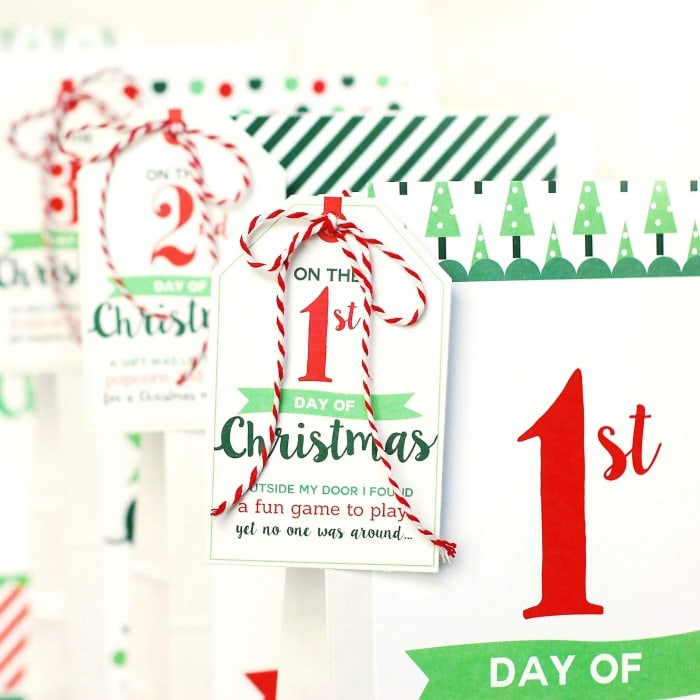 Christmas 12 days of christmas Christmas countdown