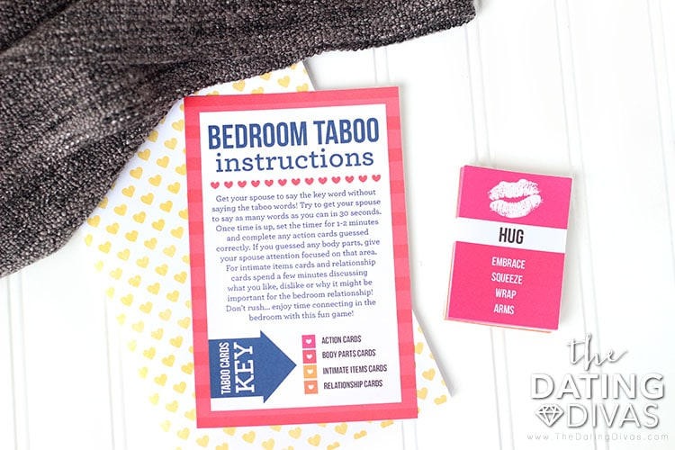Bedroom Taboo Instruction
