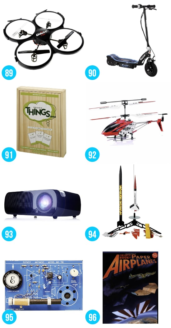 Gift Ideas for Boys 12-16