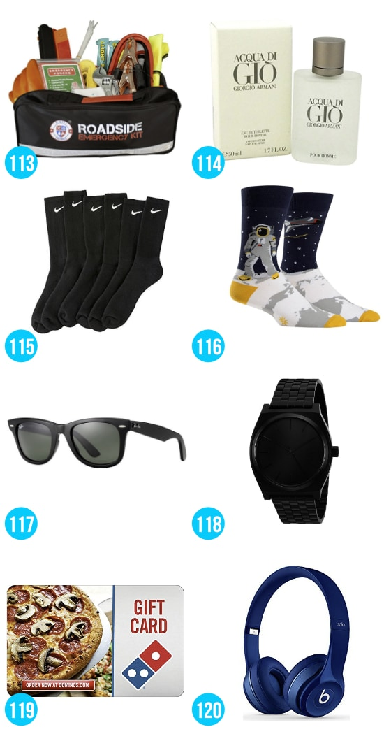 Gift Ideas for Boys 16-18
