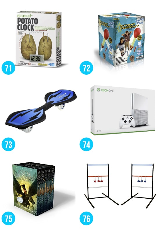 Gifts for Boys Ages 8-12