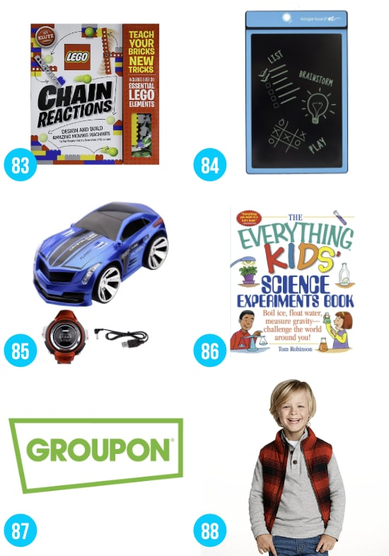 Christmas Ideas for Boys 8-12