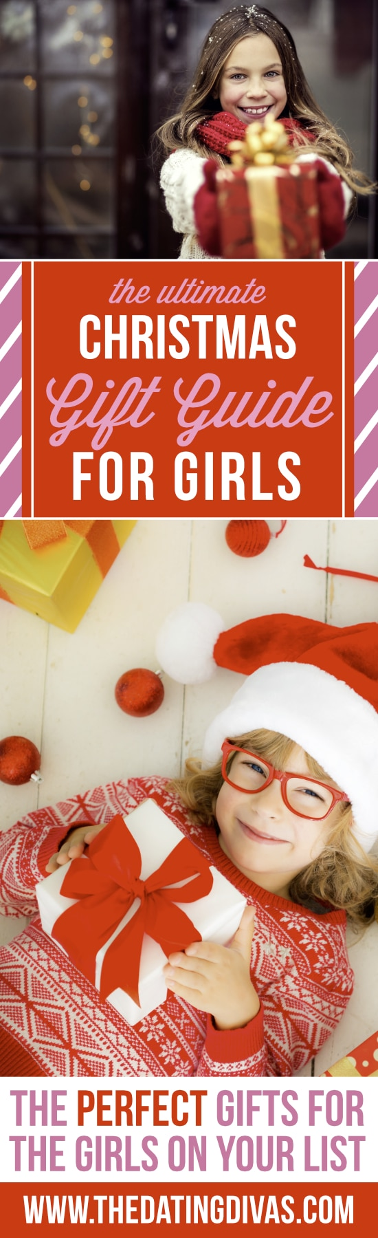 Christmas Gift Guide for Girls - Gift Ideas from The Dating Divas