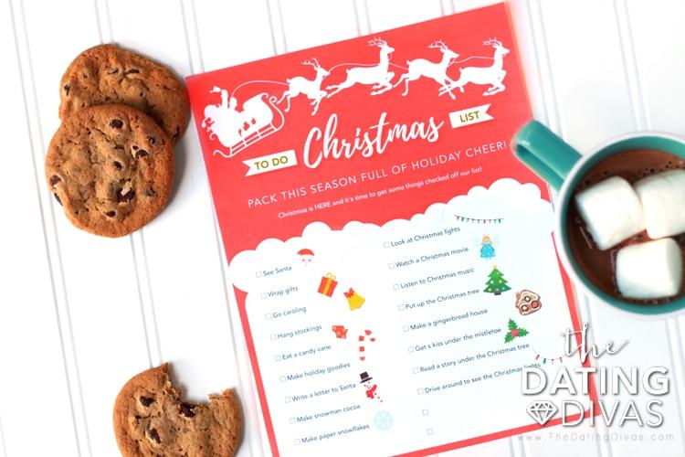 Christmas To-Do List Christmas Activities