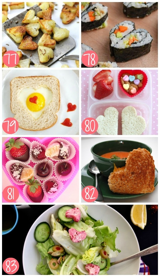 Healthy Non-Dessert Valentine Treats