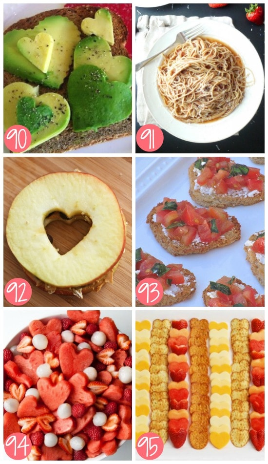 Healthy Non-Dessert Valentine's Day Food