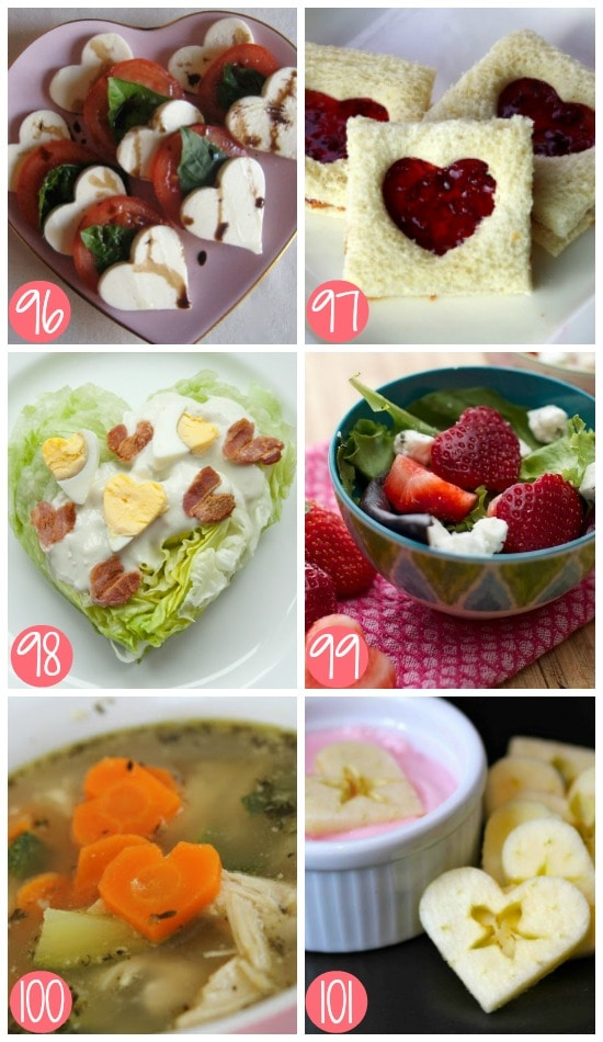 Healthy Non-Dessert Food for Valentine's Day