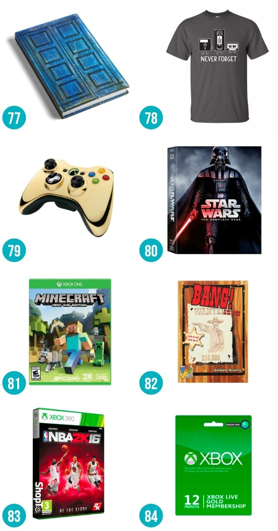 Gift Ideas for the Nerdy Guy