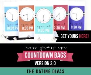 NYE Countdown Bags 2.0 | TheDatingDivas.com