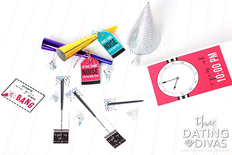 New Year's Eve Party Bags