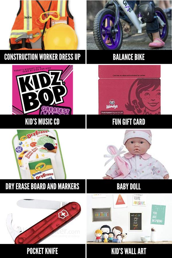 Non Toy Christmas Gift Ideas