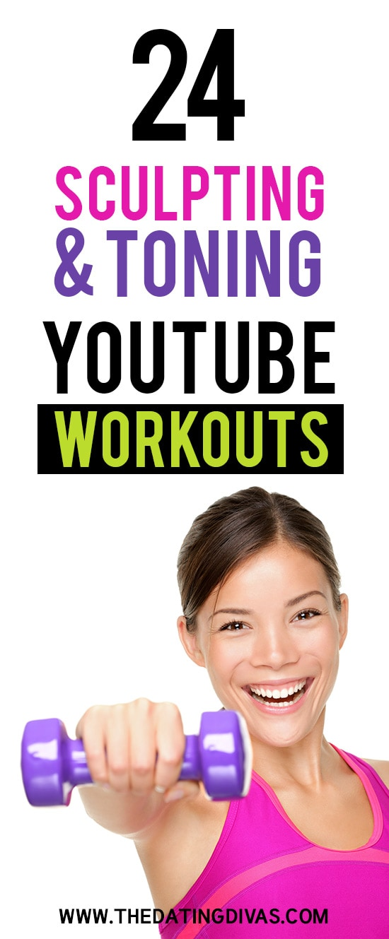 24 Sculpting & Toning YouTube Workouts