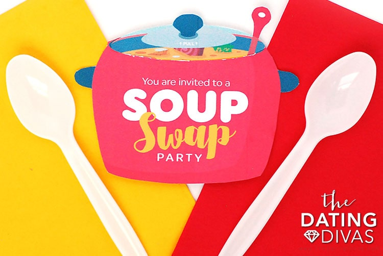 Soup Swap Invitation Idea