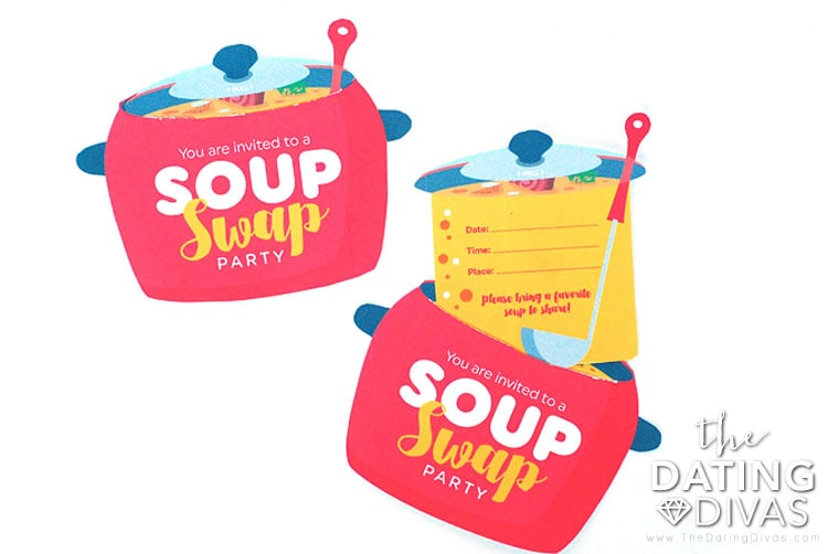 Soup Swap Invitation