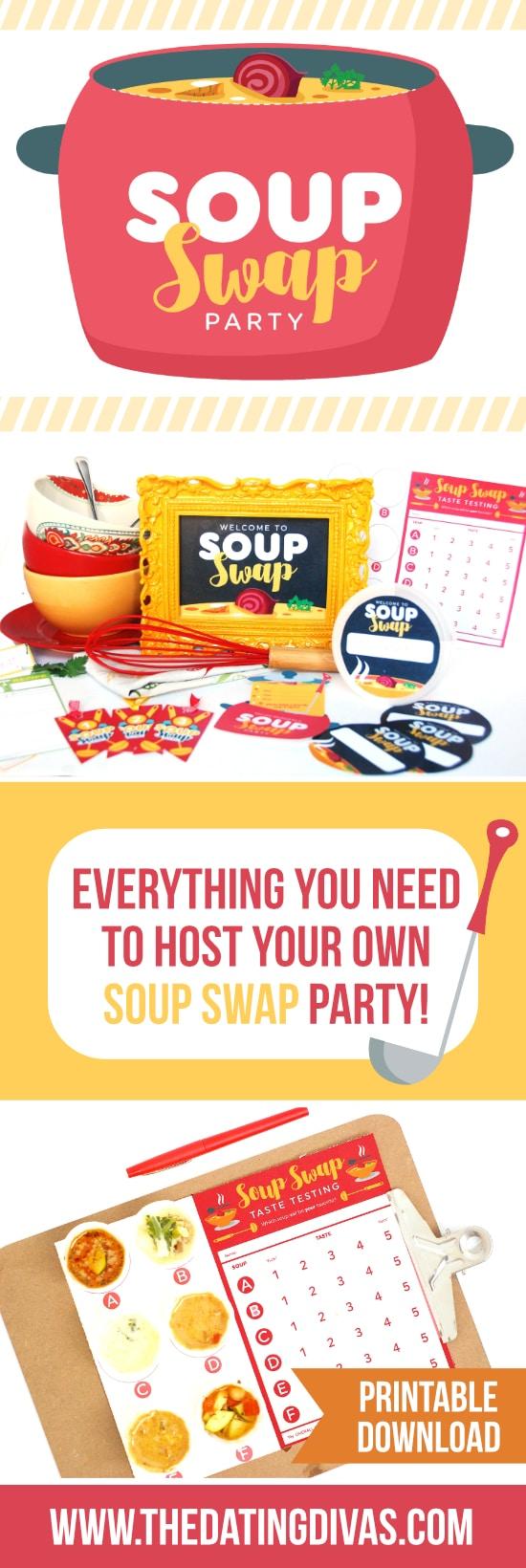 Host a Soup Swap Party
