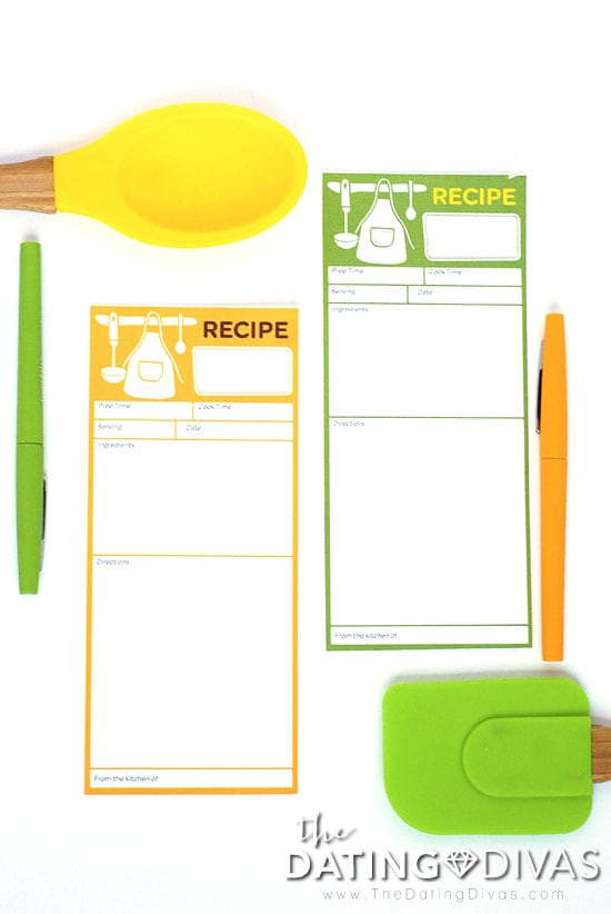 Soup Swap Recipe Cards
