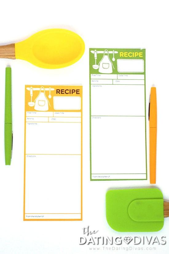 Soup Swap Recipe Cards