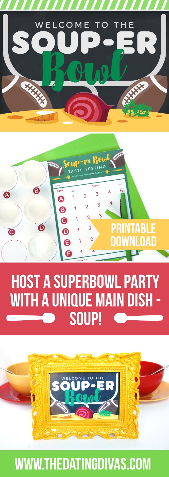 Super Bowl Soup Swap Party