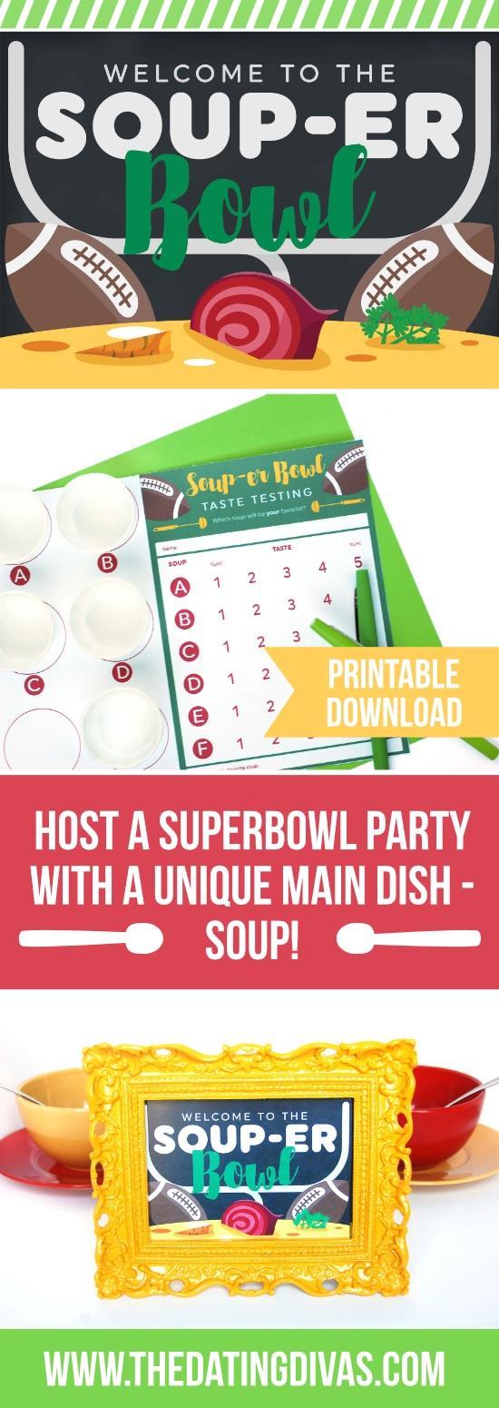 Super Bowl Soup Swap Party