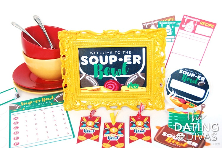 Soup-er Bowl Printables