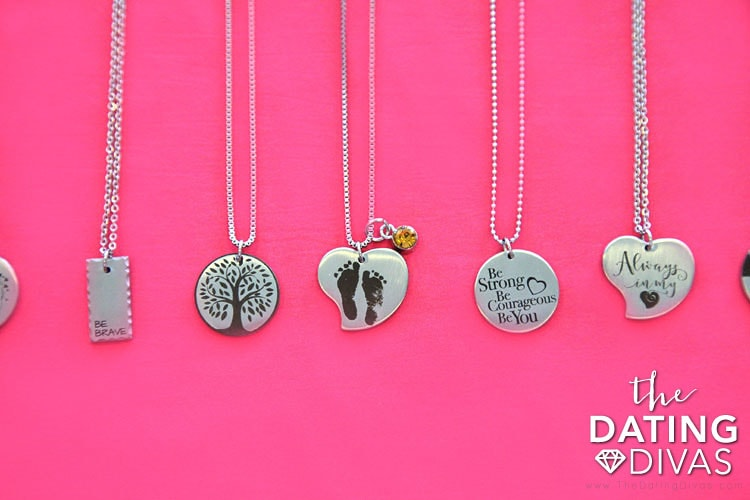 Stamp the Moment Beautiful Custom Necklace