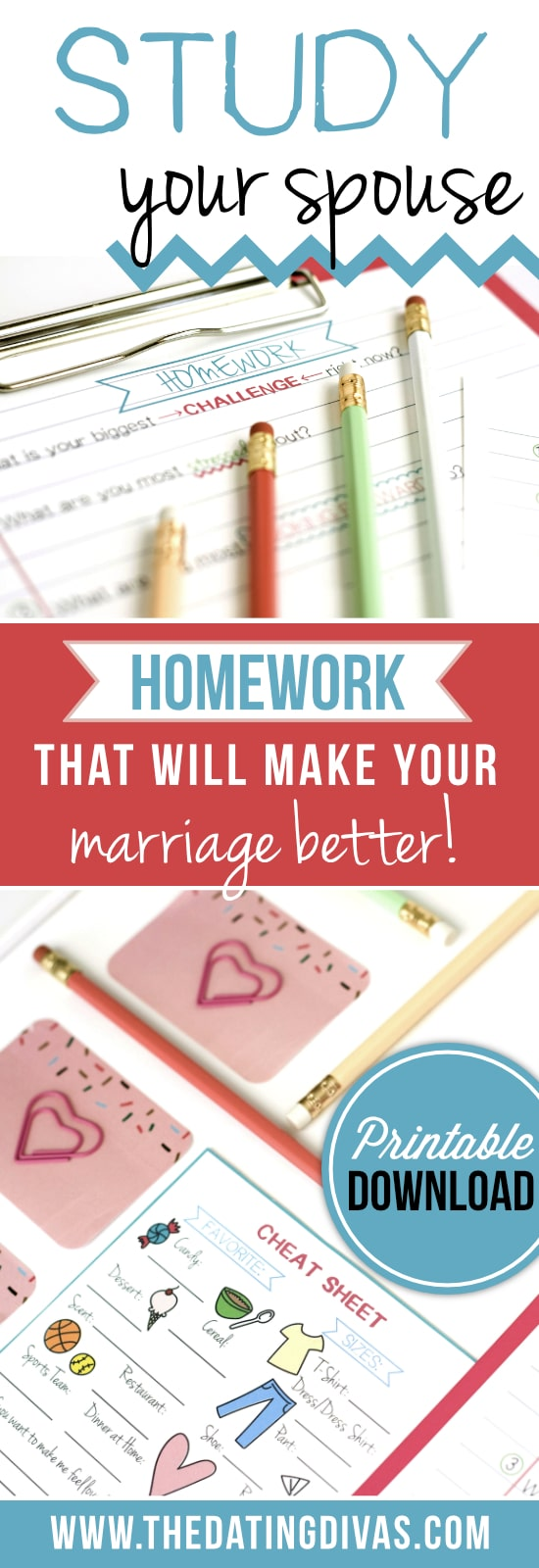 Make your marriage better by studying your spouse!